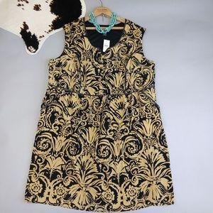 Lane Bryant size 28 lined sheath dress